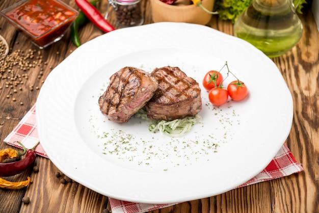 Grillowane warzywa steaknd z grilla