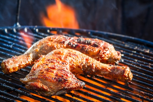 Grillowany kurczak z warzywami
