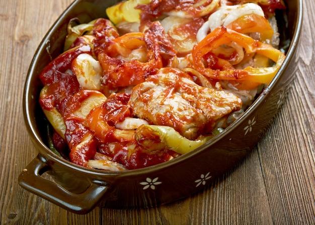 Grillowany stek jamiego olivera po hiszpańsku