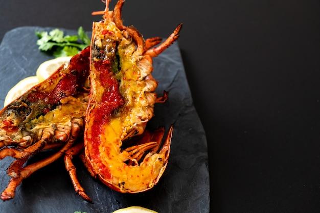 Grillowany stek z homara