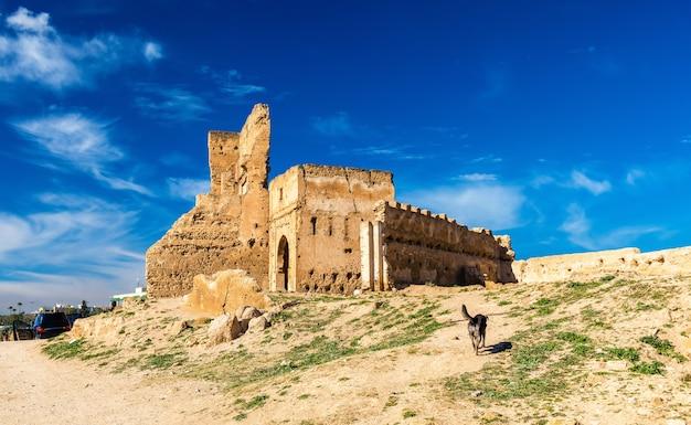 Grobowce marinidów lub merenidów w fezie w maroku