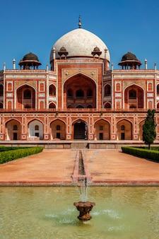 Grobowiec humajuna, delhi, indie