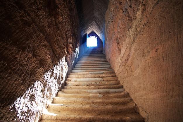 Grobowiec starożytnego faraona w el kurru, sudan
