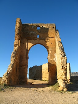Groby merenids w fezie, maroko