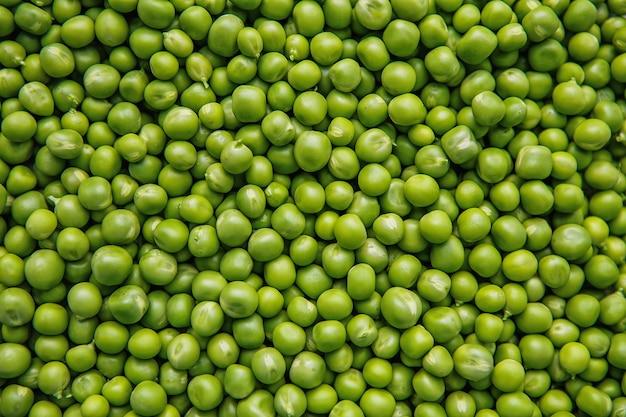 Groch zielony kolor żywność rolnictwo świeże tekstury zdjęcie stock