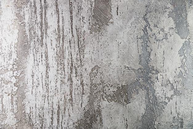 Gruba powierzchnia ściany cementowej