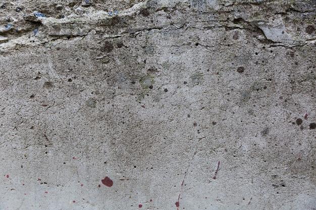 Gruboziarnista i szorstka tekstura na powierzchni ściany
