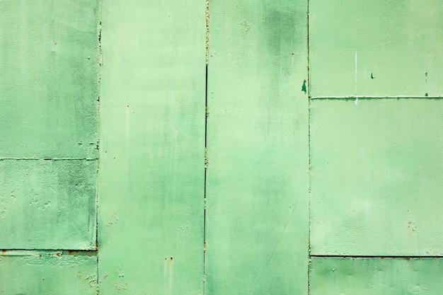 Grunge betonowej ściany ściany farba w zielonym kolorze, tło
