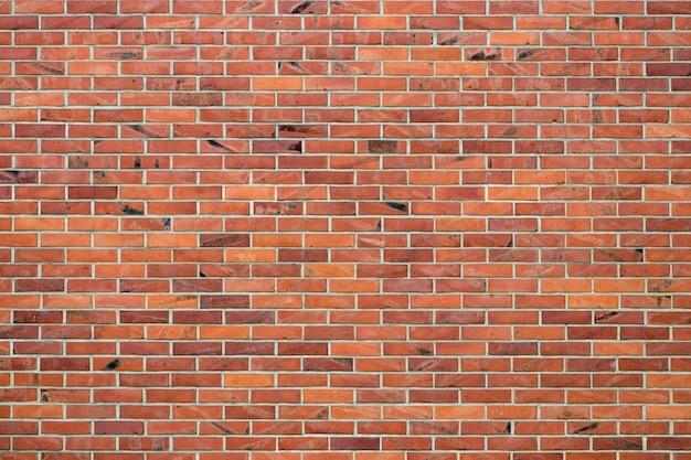 Grunge czerwonej cegły ściany.