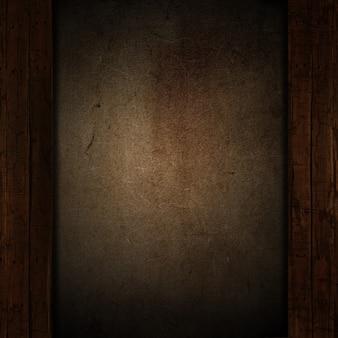 Grunge i wyblakły tło drewna