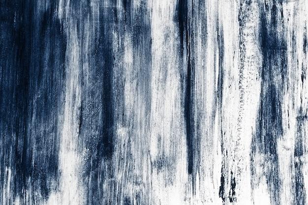 Grunge niebieskie drewniane teksturowane tło