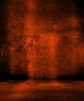 Grunge pomarańczowym tle idealny dla halloween