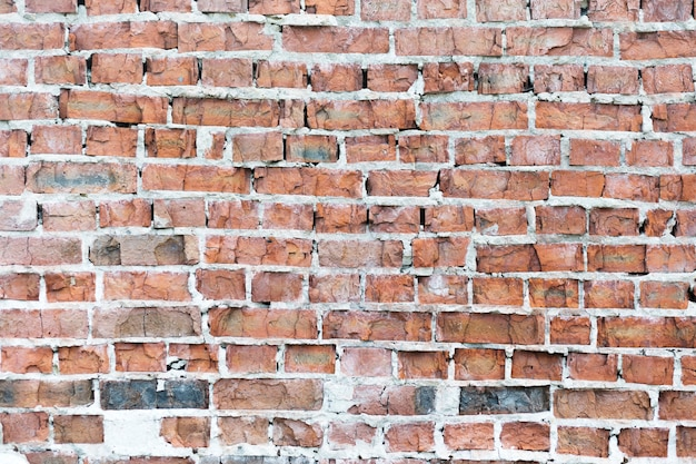 Grunge stonewall czerwony tło