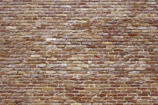Grunge tekstury ściany z cegły, antyczne czerwonej powierzchni muru
