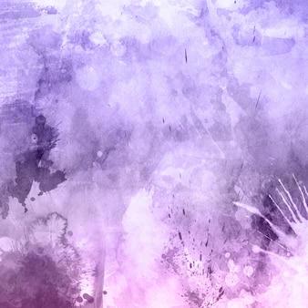 Grunge tekstury tła z ikonami akwarela i plamy