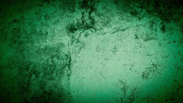 Grunge tło zielonej ściany kolorowe abstrakcyjne tło