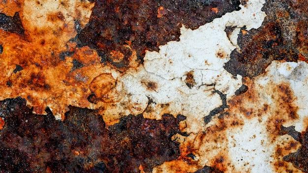 Grunge zardzewiały metal tekstury tła do dekoracji wnętrz zewnętrznych i koncepcji projektu konstrukcji przemysłowych