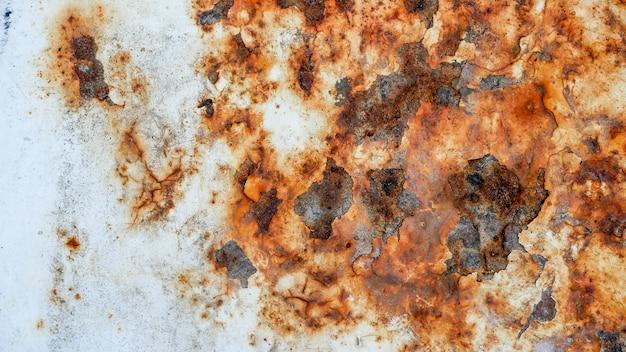 Grunge zardzewiały metal tekstury tła