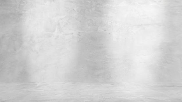 Grungy białe tło naturalnego cementu lub kamiennej starej tekstury