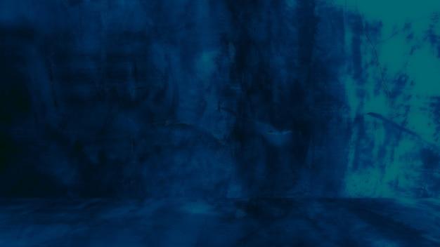 Grungy niebieskie tło naturalnego cementu lub kamienia stara tekstura jako wzór retro ściana koncepcyjna ściana...