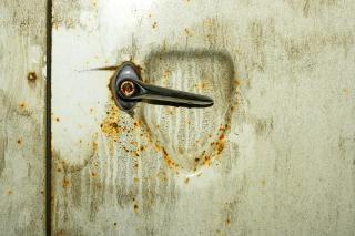 Grungy ścianie