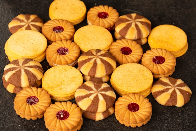 Grupa ciasteczek lub herbatników