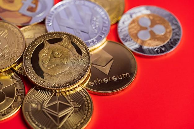 Grupa dogecoin doge zawiera bitcoin kryptowaluty, ethereum eth, ripple coin xrp, symbol ethereum classic etc