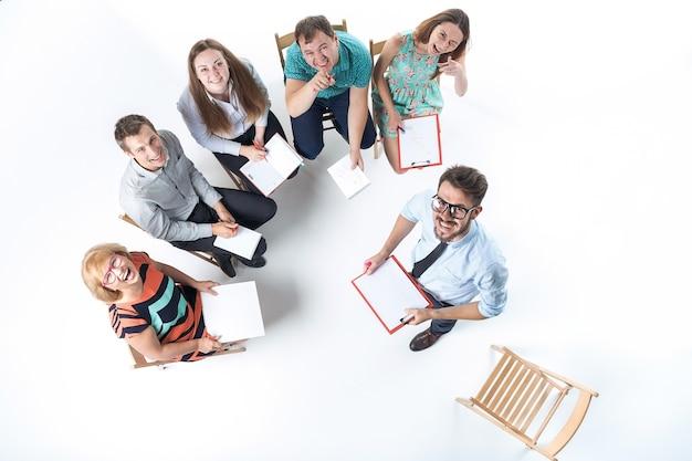 Grupa ludzi biznesu w spotkaniu