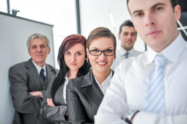 Grupa ludzi biznesu