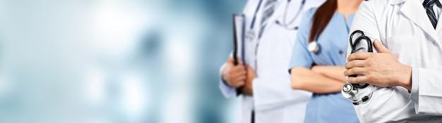 Grupa ludzi opieki zdrowotnej.