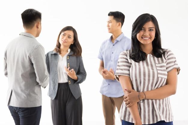 Grupa młodych koncepcji biznesowych