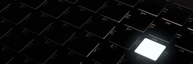 Grupa renderowania 3d prostokątów 3d makieta tła