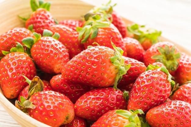 Grupa truskawka lub truskawki owocowe