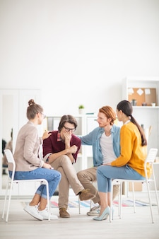 Grupa udzielająca wsparcia psychologicznego