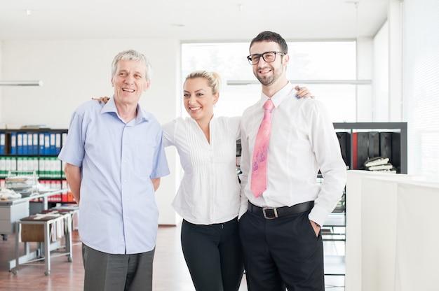 Grupowy portret ludzie biznesu i kierownictwa