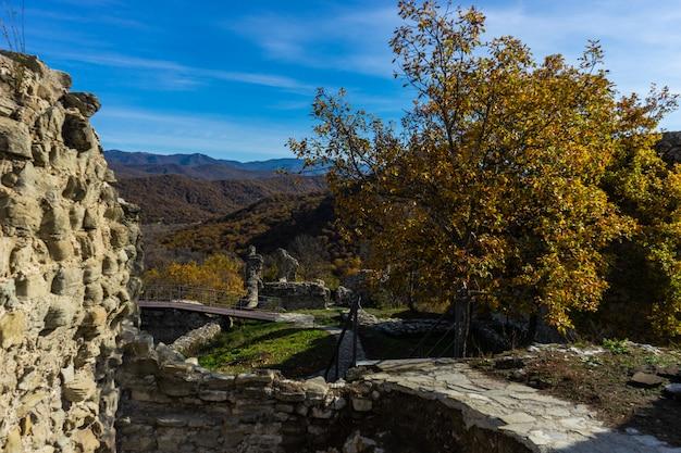Gruziński naturalny krajobraz