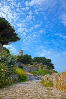 Guernsey dekoracje hdr