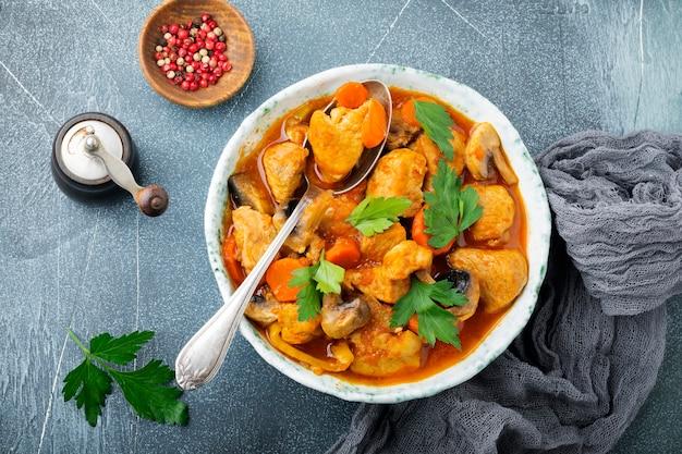 Gulasz tradycyjne danie węgierskie