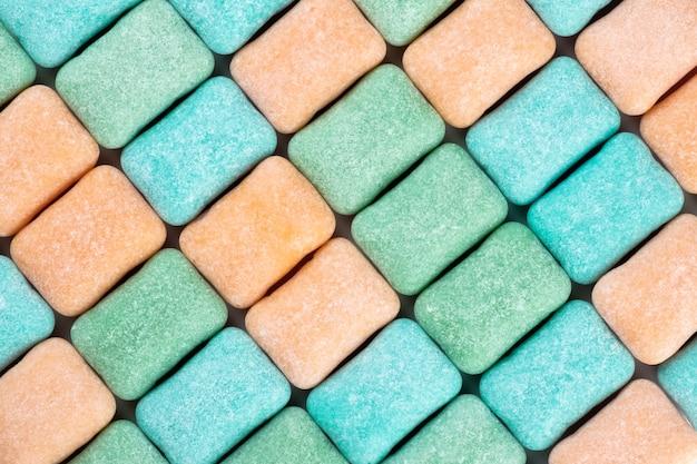Guma do żucia teksturowanej tło