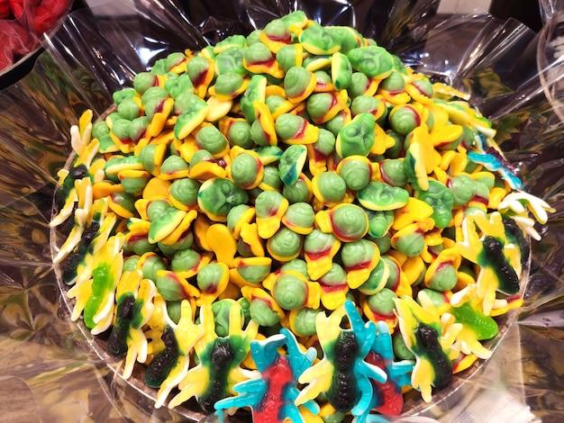 Gumki owocowe duży plan
