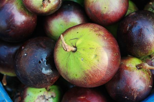 Gwiazdowa jabłczana owoc, tajlandia owoc