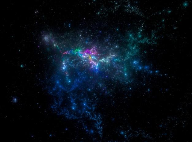 Gwiaździsta kosmosu tekstury tło