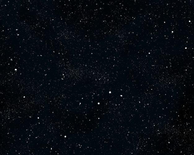Gwiaździste nocne niebo