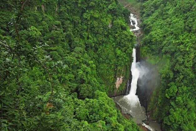 Haew-narok siklawa, kao yai park narodowy, tajlandia