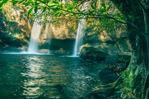 Haew suwat waterfall khao yai national park