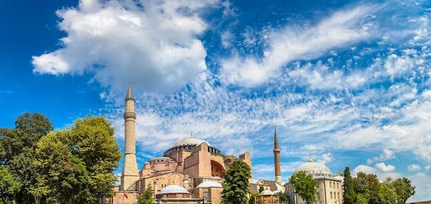 Hagia sophia w stambule, turcja