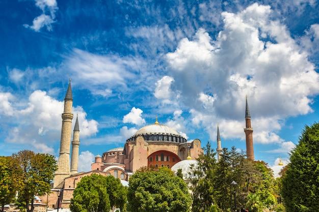 Hagia sophia w stambule w turcji