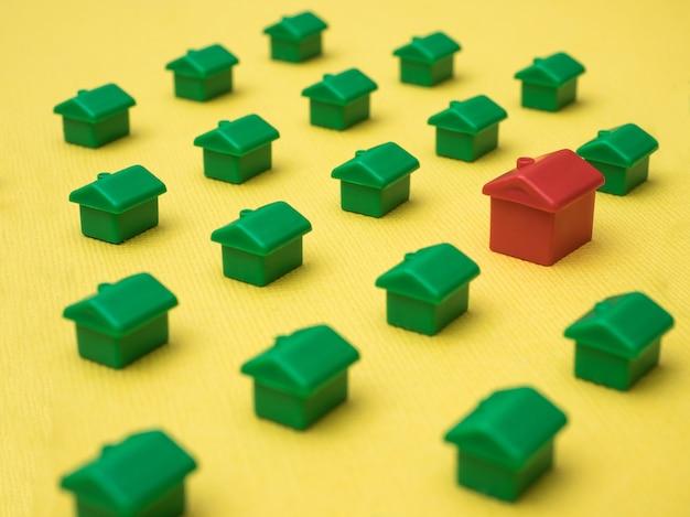 Hałas domów, na nieruchomości