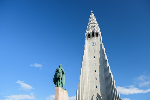 Hallgrímskirkja, luterański kościół parafialny w reykjaviku na islandii