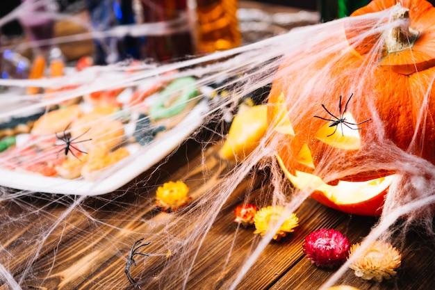 Halloween martwa natura